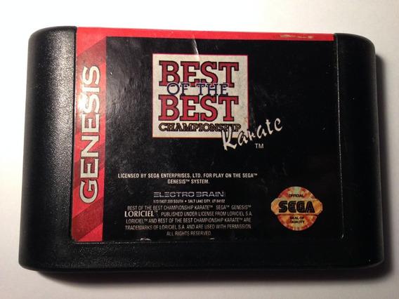 Best Of The Best: Championship Karate Mega Drive Frete $14