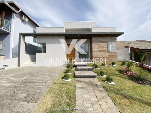 Casa Com 3 Dormitórios Sendo 2 Suites No Condomínio Terras De Atibaia Ii - Atibaia/sp - Ca0303