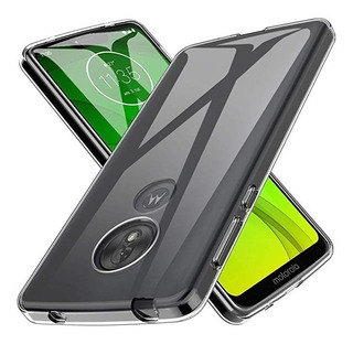 Moto G7 Power - Protector Rigido Slim Case Con Glass 9h