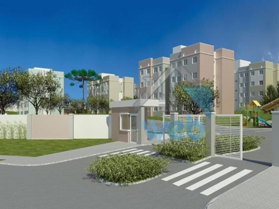 Residencial Das Hortênsias - Ótima Oportunidade Para Adquirir Imóvel Em Construção, Com 2 Quartos, No Bairro Tindiquera, Em Araucária. - Ap00180 - 33547455