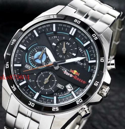 Relógio Casio Edifice Red Bull Efr-556tr Toro Rosso 50mm