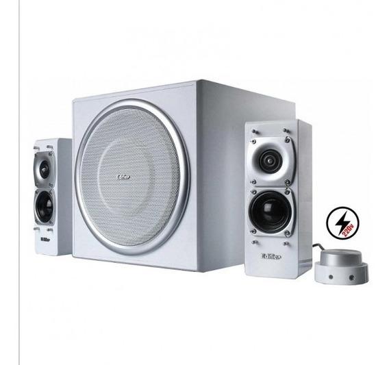 Caixa De Som 2.1 Edifier S330 72w - 220v - Branca