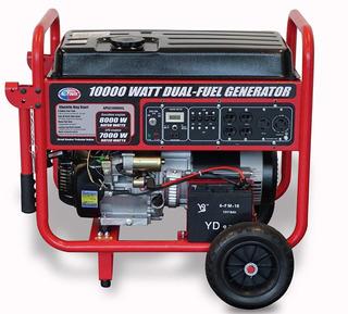 Planta Electrica 10 Kva.15 Hp Dual Gasolina Y Gas.(usa)