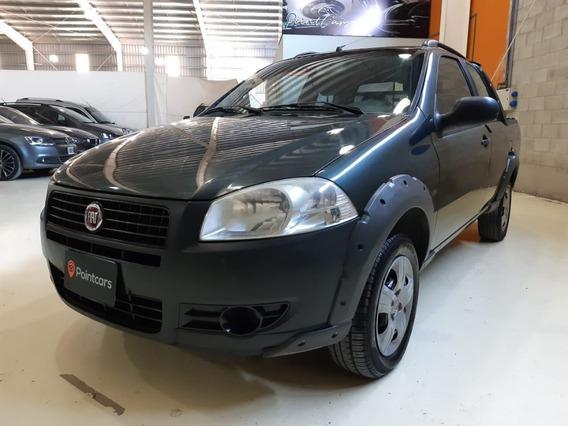 Fiat Strada 1.4 Working Cd C/aa Pack Seg 2013 Gnc Pointcars