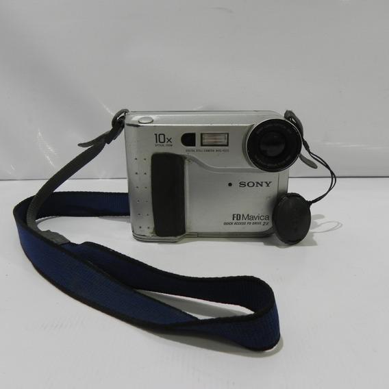 Cãmera Disquete Sony Fd Mavica Mvc-fd75 - Usado Com Defeito
