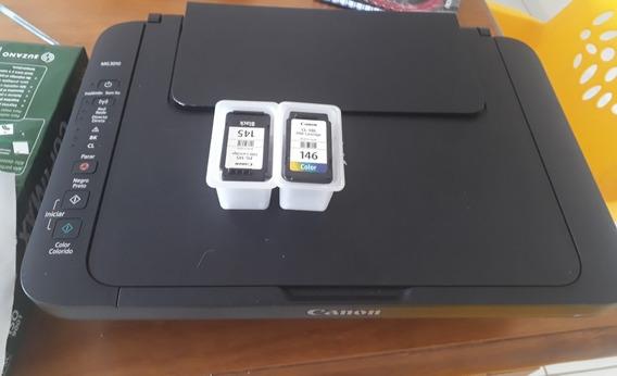 Impressora Multifuncional Canon Mg3010 Wifi