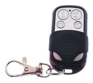 Control Remoto Inalámbrico Tipo Llavero, 4 Botones Metalico