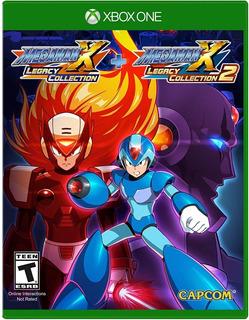 Mega Man X Legacy Collection 1 + 2 Xbox One Nuevo Sellado