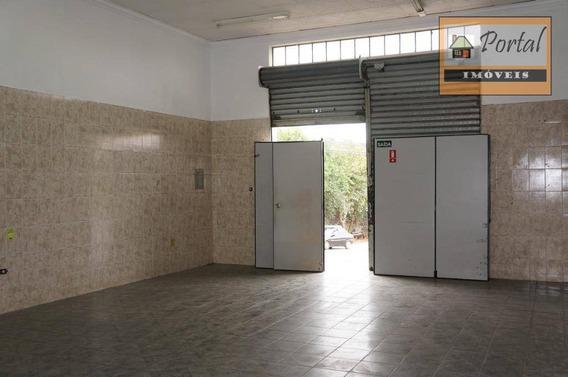 Salão Para Alugar, 65 M² Por R$ 1.200/mês - Jardim Europa - Campo Limpo Paulista/sp - Sl0019