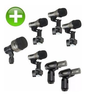 Cad Pro 7 Microfonos Para Bateria. Cad Stage 7 Stage 4 Pro 4
