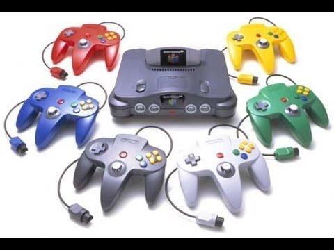 Nintendo 64 + 4 Controles Original + Fonte + Av+ Jogo Brinde
