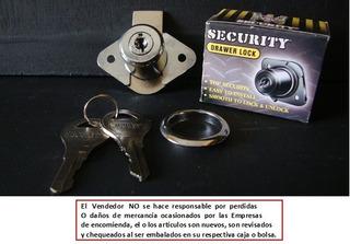 Cerradura Oval Para Gaveta Security Preguntar *
