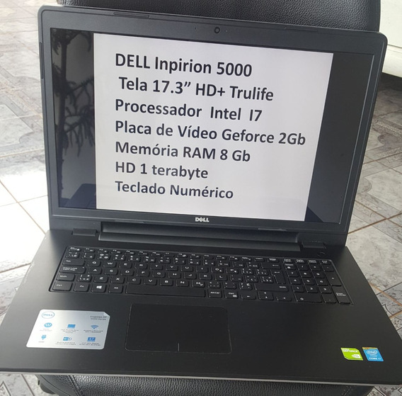 Notebook Dell Com Pouco Uso
