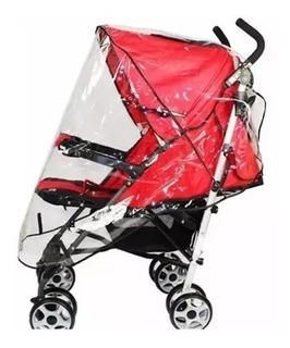 Cobertor De Lluvia Universal Capota Para Cochecitos Bebes
