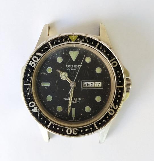 Antigo Relógio De Pulso Orient 100m Ky D39742 - No Estado