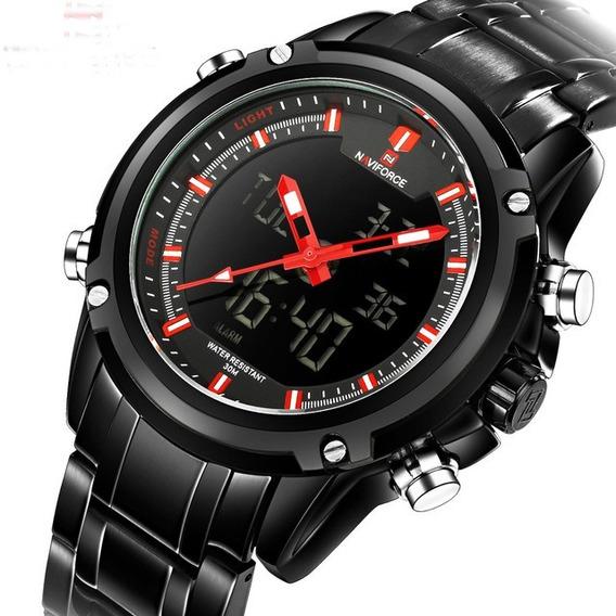 Relógio Masculino Esportivo Militar Rancer Naviforce Orginal