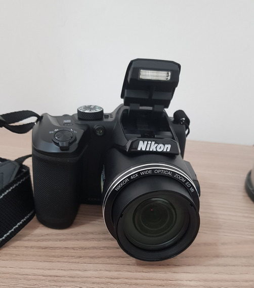 Câmera Fotográfica Nikon Coolpix B500 16 Mp 40x Zoom Fullhd