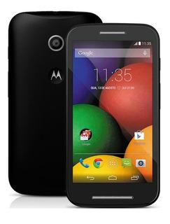 Smartphone Moto E Xt1022 4gb 3g Dual 5mp 4.3 Wi-fi Preto