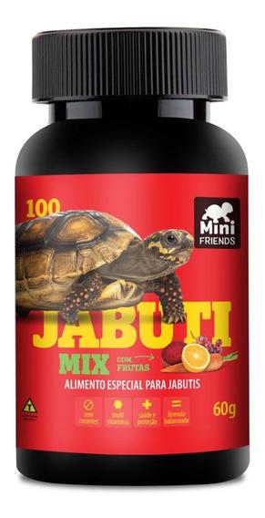 Mini Friends - Alimento Premium Jabuti Mix - 60 G