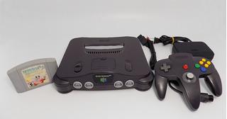 Consola Nintendo 64 Completa +1 Juego Funcional