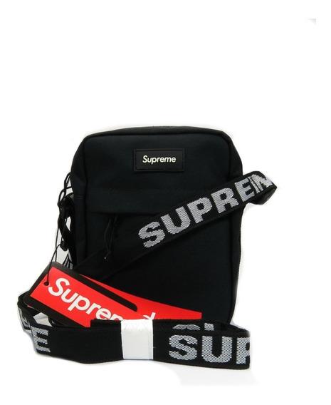Kit 2 Shoulder Bag Supreme Ss18 + Adesivo - Pronta Entrega