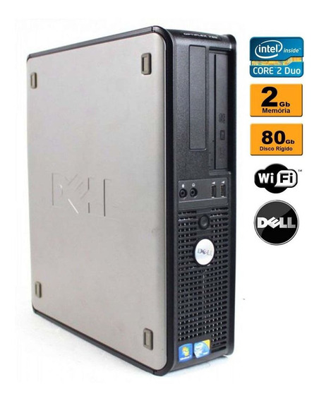 Cpu Dell Optiplex 320 C2d 2gb 80gb Wifi Recondicionado