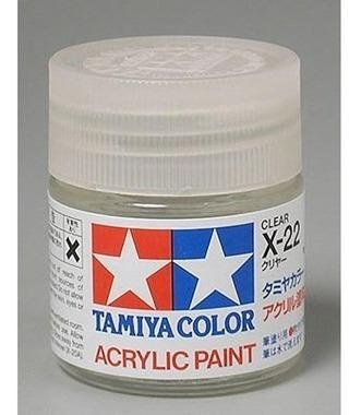Tinta Tamiya X-22 Clear Gloss (verniz Transparente Brilhan)