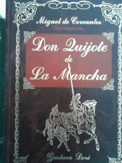 Libro Don Quijote De La Mancha Ilustrado Por Doré