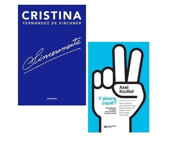 Pack Sinceramente + Y Ahora ¿qué? - Cristina Kirchner Axel