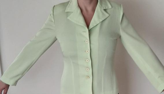 Blazer - Verde Manzana - Talle M/40 - Entallado - Usado