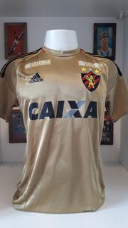 Camisa Futebol Sport Recife Raul Prata Dourada