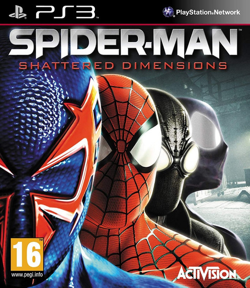 Spider Man Shattered Dimensions Ps3 Via Psn Ps3 Original