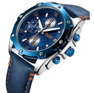 Reloj Megir Analogo Cuarzo Naviforce Casio Curren