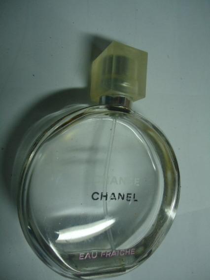 Perfume Chance De Chanel 50ml Vazio Para Colecionador N010