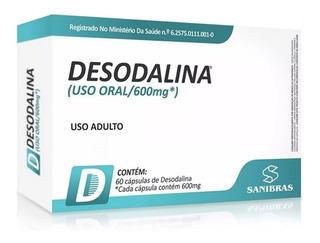 Emagrecedor Desodalina 600mg - 60 Cápsulas - Sanibras