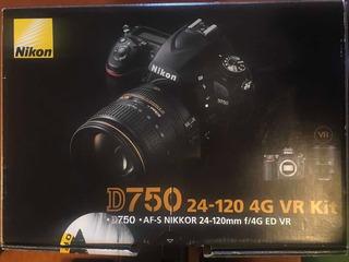 Cámara Nikon D750 Con Accesorios