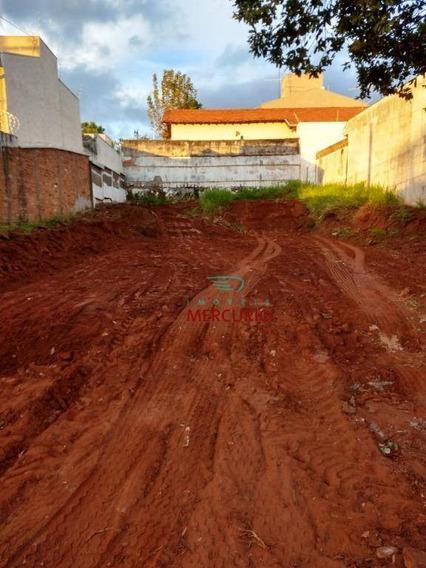 Terreno À Venda, 242 M² Por R$ 195.000,00 - Centro - Bauru/sp - Te1234