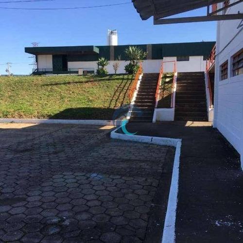 Galpão Para Alugar, 2250 M² Por R$ 30.000,00/mês - Putim - São José Dos Campos/sp - Ga0095