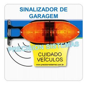 Sinalizador Luminoso De Garagem Led Com Sonoro Incluso