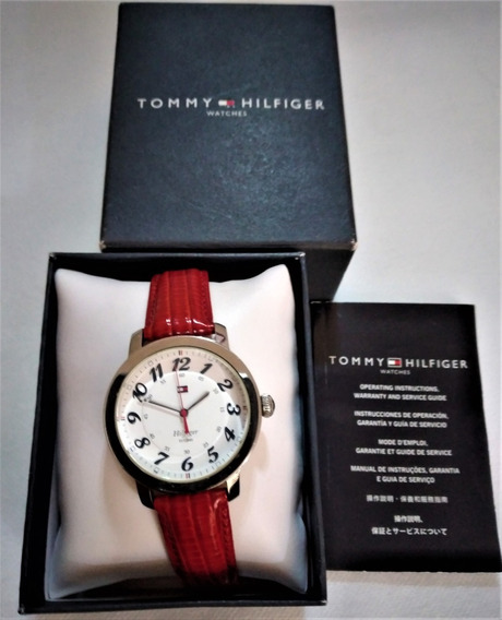 Relógio Pulso Feminino Tommy Hilfiger Metal E Couro Legítimo