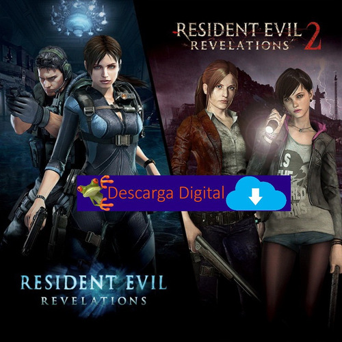 Resident Evil Revelations 1 2 Complete Juego Pc Digital