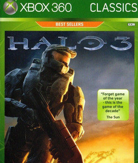 Halo 3 Best Sellers Nuevo Para Xbox 360