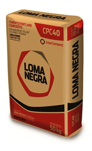 Imagen 1 de 5 de Cemento Loma Negra X 50kg Contado. Servicersa