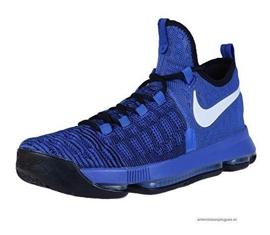 Tenis Nike Zoom Kd 9 Azul Kevin Durant # 27 Cm