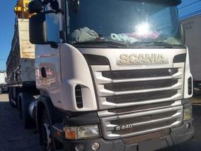 Scania G 440 6x2 2013 Com Carreta Ls Graneleiro