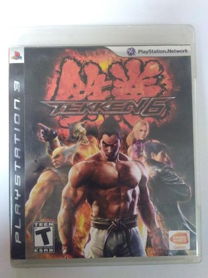 Jogo Tekken 6 Ps3 Mídia Fisica Completo R$75