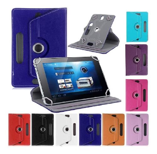 Imagen 1 de 2 de Estuche Tablet 7 Pulgadas Soporte Funda Stand Giratoria 360º