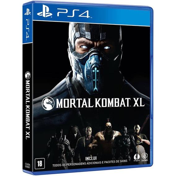 Jogo Mortal Kombat Xl Ps4, Novo, Lacrado, Mídia Física.