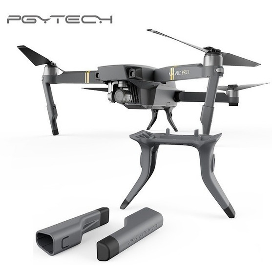Trem De Pouso Extensor Drone Mavic Pro Dji Pgytech Original Em 12 X Sem Juros