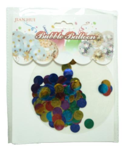 Globos De Burbujas Rellenos De Confeti Trasparente Bellos